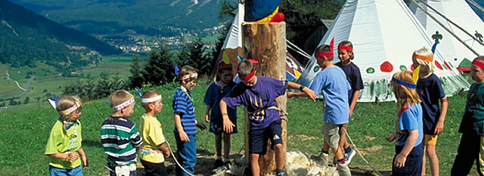 Kinderprogramm in Berwang